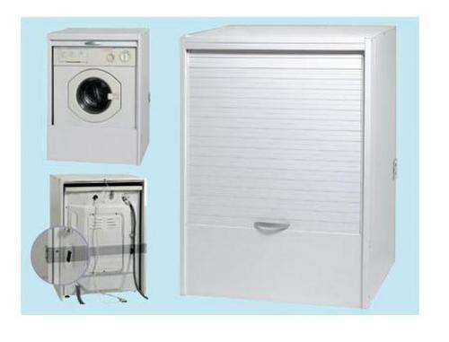 Resin washing-machine cover-cabinet, for outdoor